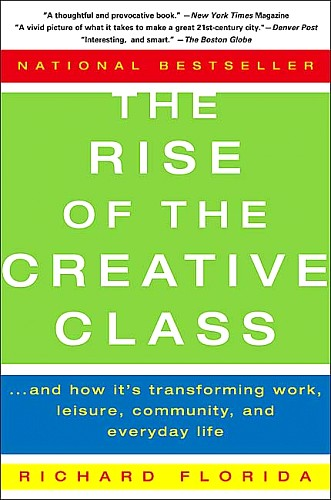 Toby Elwin, Rise of the Creative Class, Richard Florida