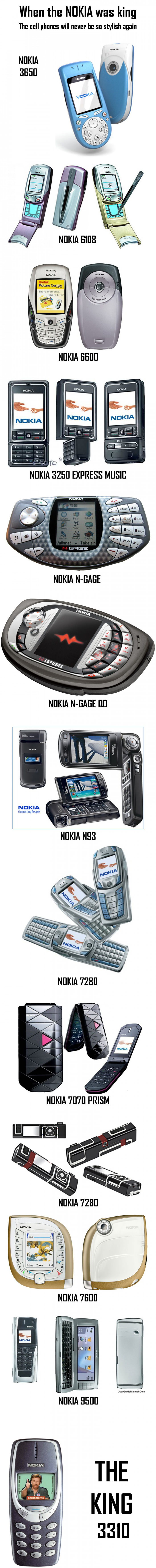 When the Nokia was King