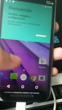 2015 Moto G Screen