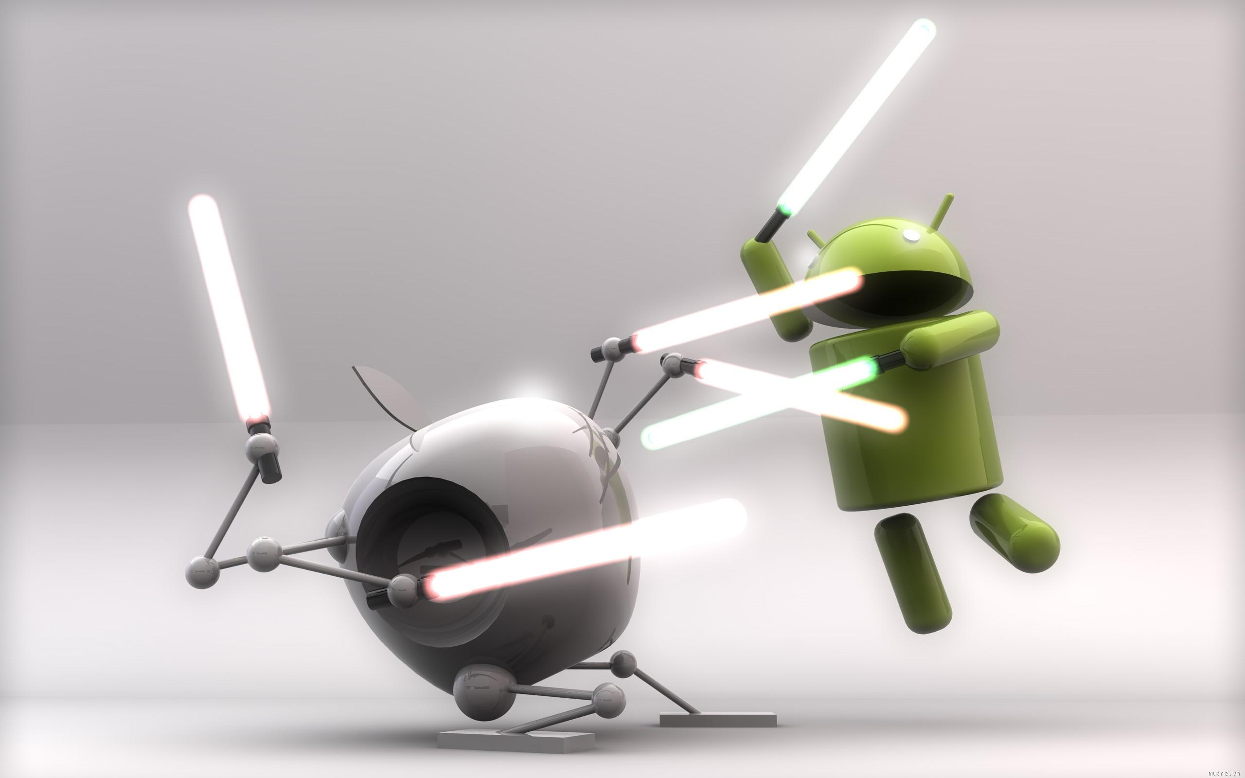 iOS vs. Android... Fight!