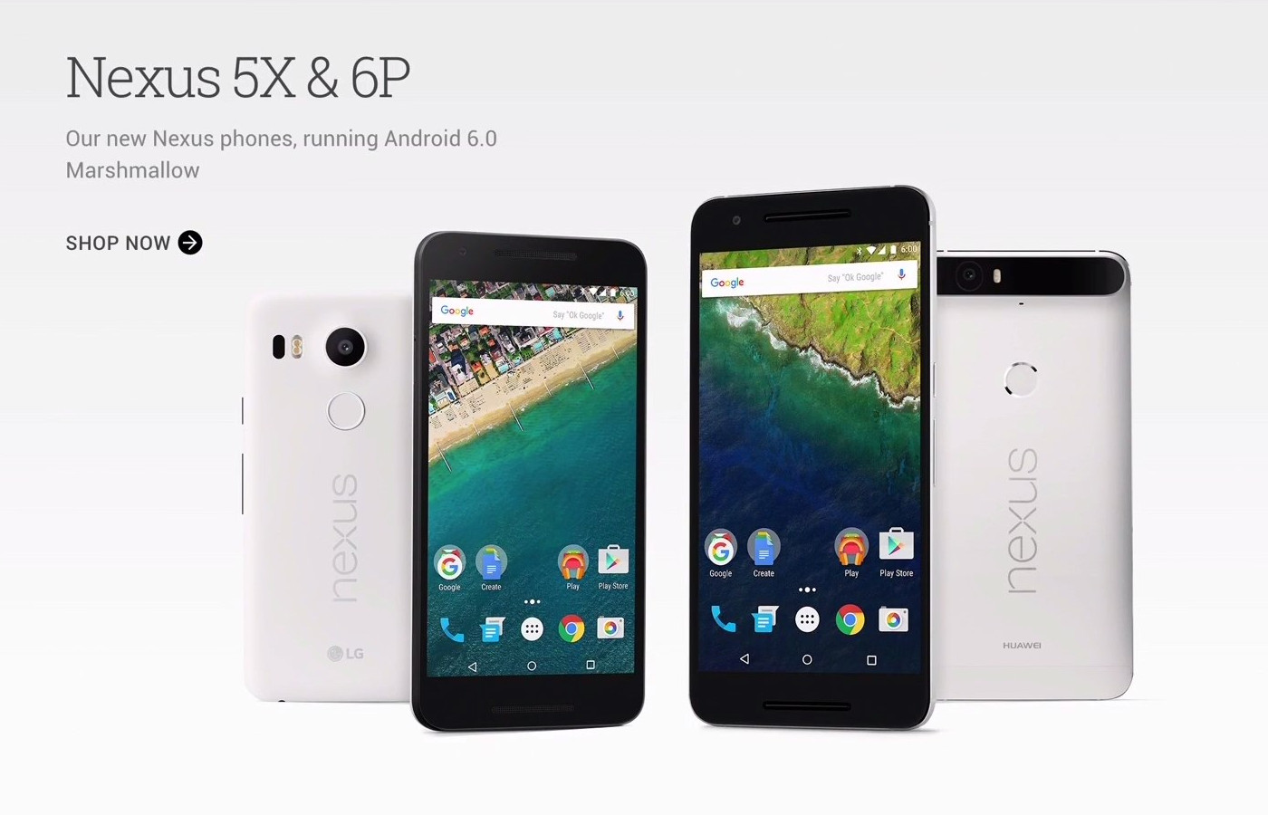 2015 Nexus 5X and 6P
