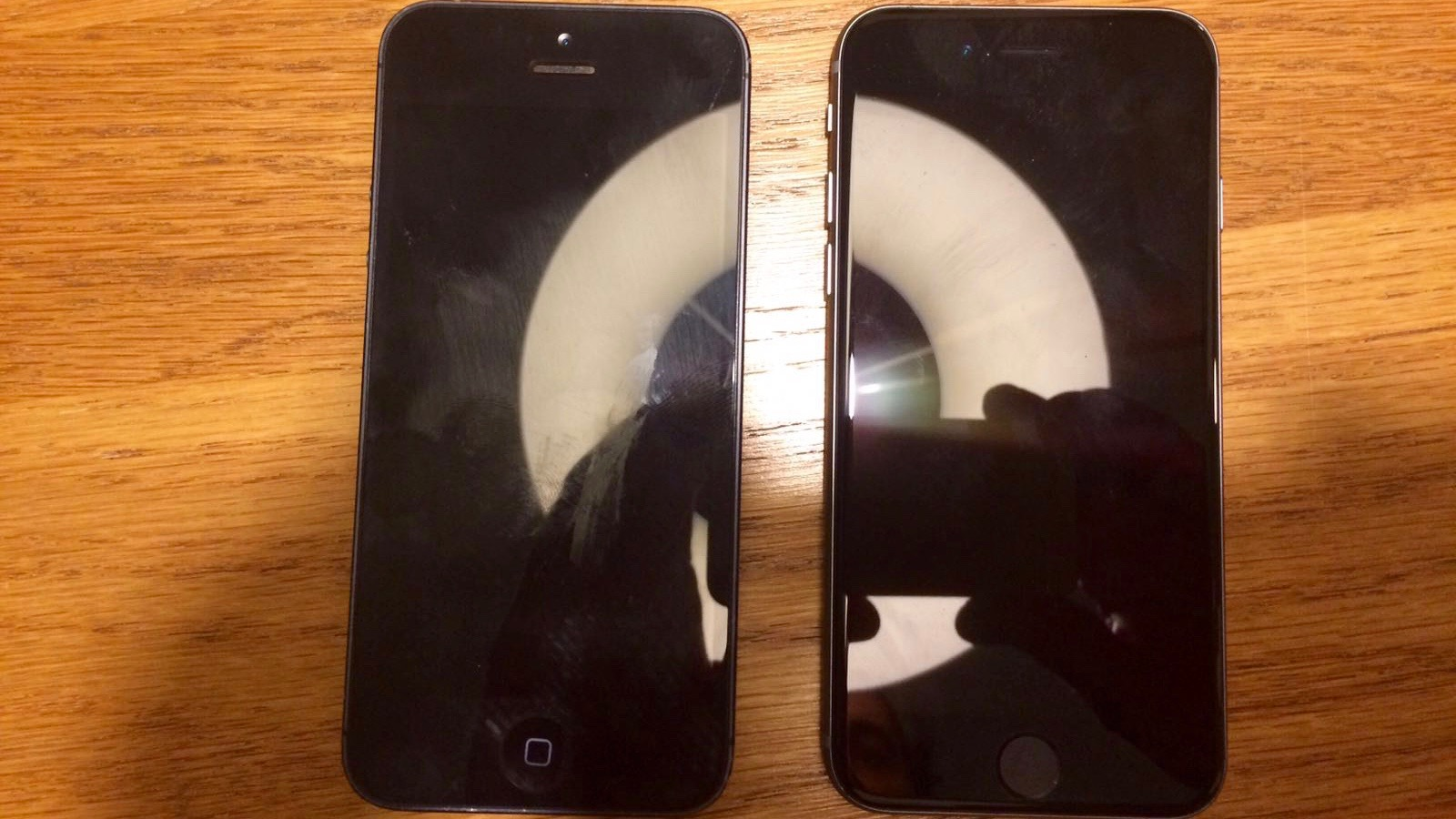 iPhone 5 and 5se