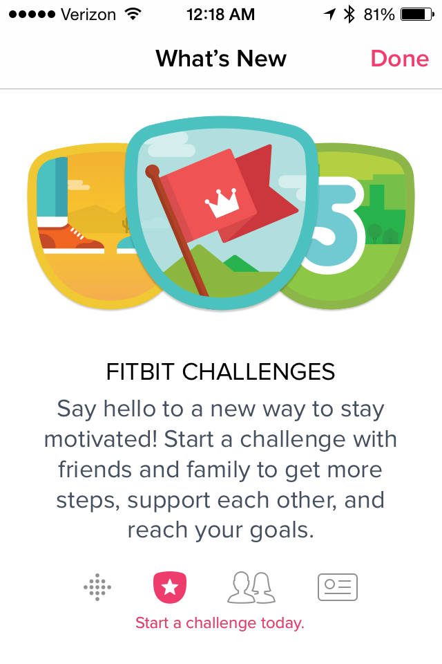 Fitbit Challenges