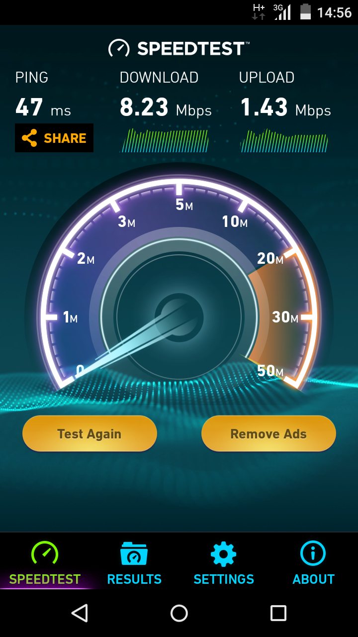 handy Speed Test
