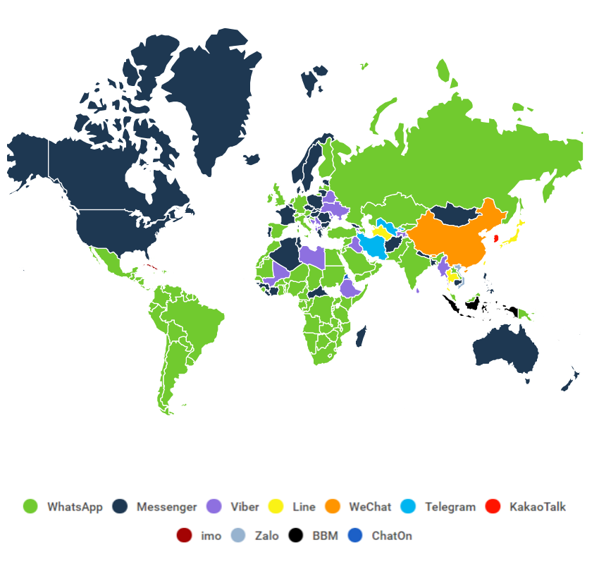 Apps by Country