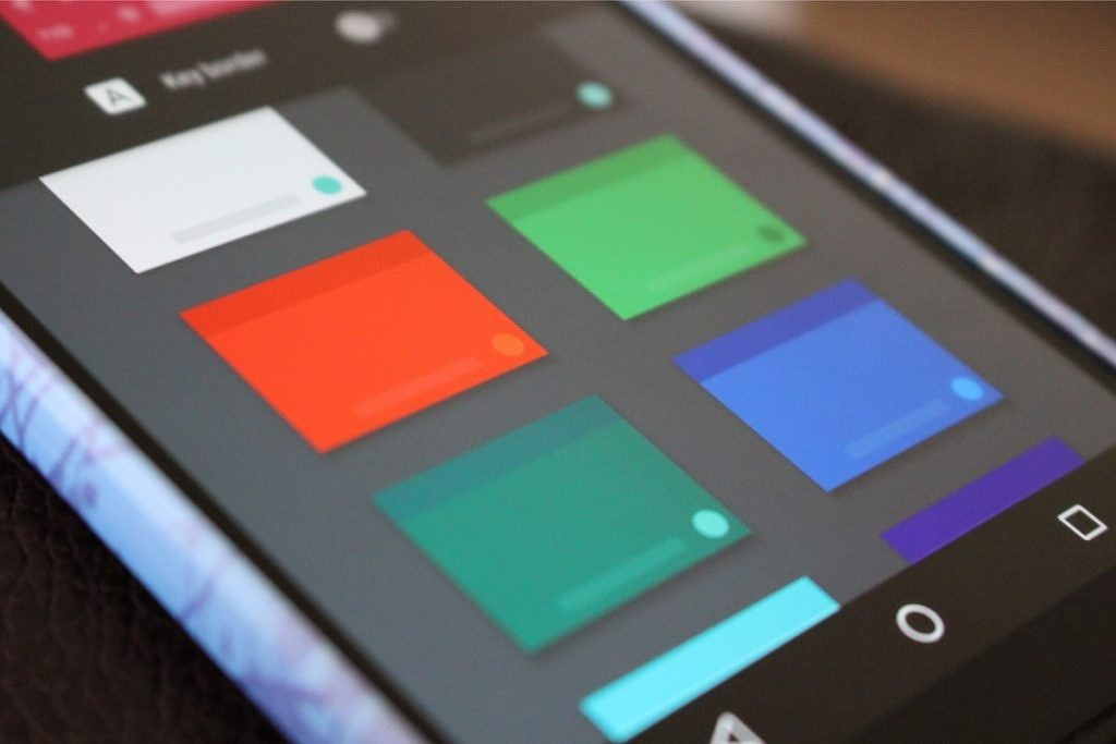 Themable Google Keyboard