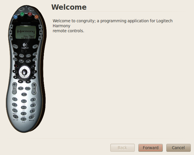 How to set up a Harmony remote using Linux  – Open attitude